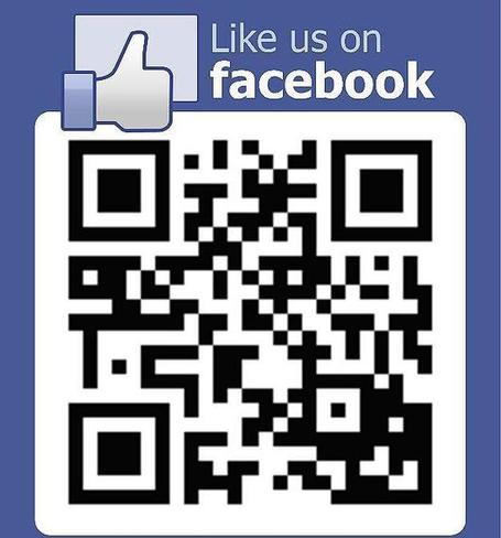 Twitter / SonicAgeUWand: Or Like us on Facebook by ... | QR Code Art | Scoop.it
