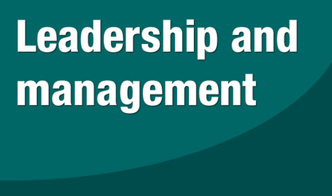 Leadership and management | Aprendiendo a Distancia | Scoop.it