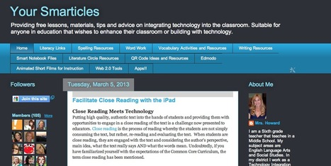 Your Smarticles | Applied Instructional Technology | Scoop.it