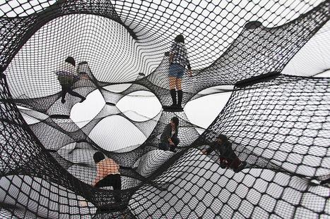 Numen: Net Blow-up Yokohama | Art Installations, Sculpture, Contemporary Art | Scoop.it