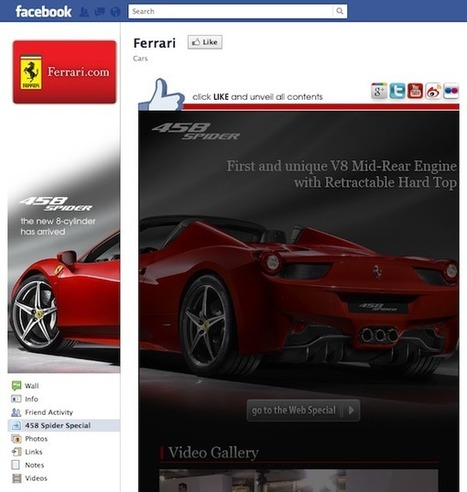 Inside Facebook · Facebook Marketing Showcase: Luxury Car Brands Look To Drive Fans Right To The Showroom | Actu Médias Sociaux | Scoop.it