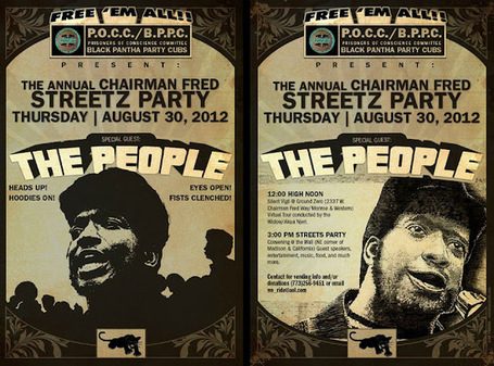 Prisoners Of Conscience Committee (POCC/BPPC): Streetz Party Flyer - August 30, 2012 - Print and Circulate | Nancy Lockhart, M.J. | Scoop.it