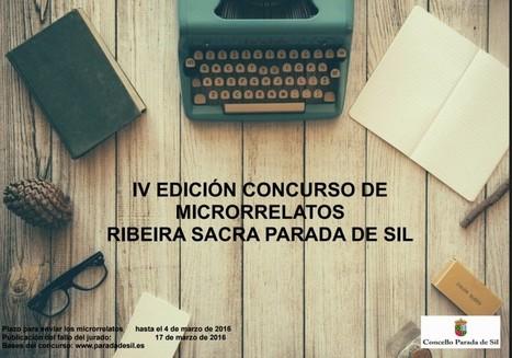 IV Concurso de microrrelatos Parada de Sil - Universo de Libros | microrrelatos | Scoop.it