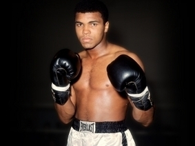 Muhammad Ali - Black History - HISTORY.com | They put Afrika on the map | Scoop.it