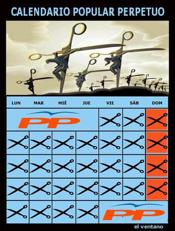 el ventano: El calendario perpetuo del Partido Popular | Partido Popular, una visión crítica | Scoop.it