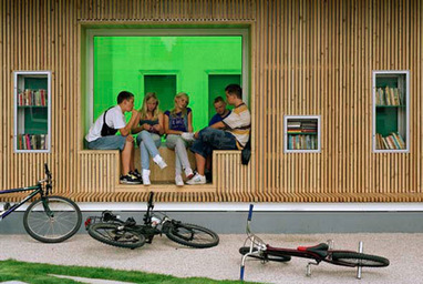 An Outdoor Library [The Best of Book Riot] | bibliotheques, de l'air | Scoop.it