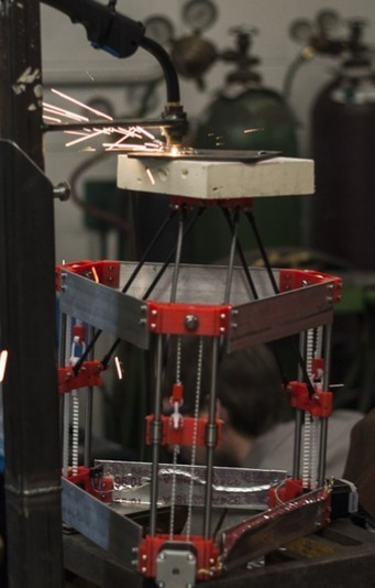 Open-source metal 3-D printer - Appropedia: The sustainability wiki | Heron | Scoop.it