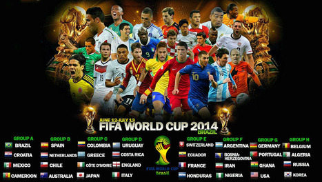 FIFA World Cup 2014 Schedule With Each Match Live Updates | News | FanPhobia - Celebrities Database | FanPhobia Celebrities News | Scoop.it