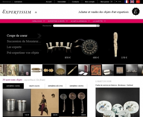 Expertissim : l'art de lever 5 millions d'euros | Actualité de l'E-COMMERCE et du M-COMMERCE | Scoop.it