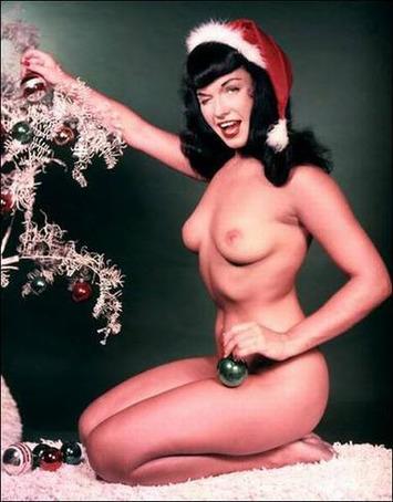 Bettie Page Christmas - Erotic Amusements | Sex History | Scoop.it