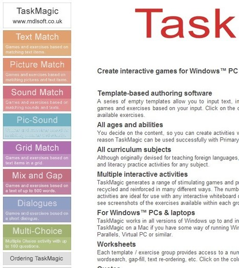TaskMagic Home Page | ICT4Languages | Scoop.it