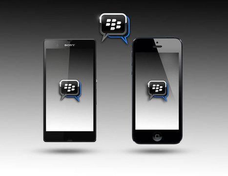 BlackBerry Messenger para iPhone y Android ya se pueden descargar | VIM | Scoop.it