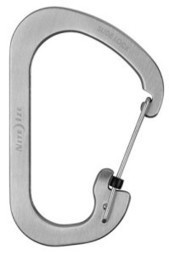 Nite Ize CLS6-11-R6 SlideLock Carabiner Size Number 6, Stainless   Best Standby Generators   Scoop.it