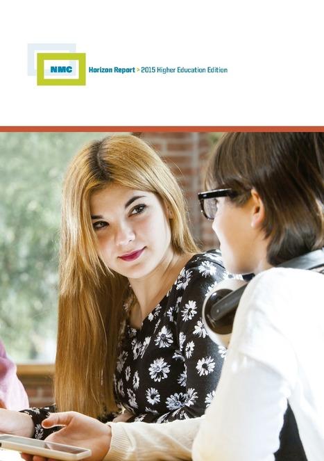 Informe Horizon 2015 de Enseñanza Universitaria. Tecnologías 1 a 5 años. | Pedalogica: educación y TIC | Scoop.it