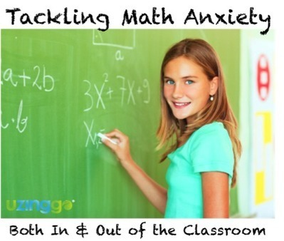 Tackle Math Anxiety Both In and Out of the Classroom | Motivating Math | Scoop.it