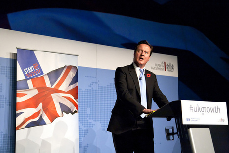 Britain's David Cameron announces more funding for Internet of things research | M2M | Scoop.it