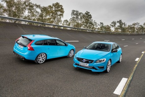 Les Volvo S60 et V60 Polestar : Enfin en France !   AUTOMOTIV PRESS   Volvo Polestar & Team Cyan   Scoop.it