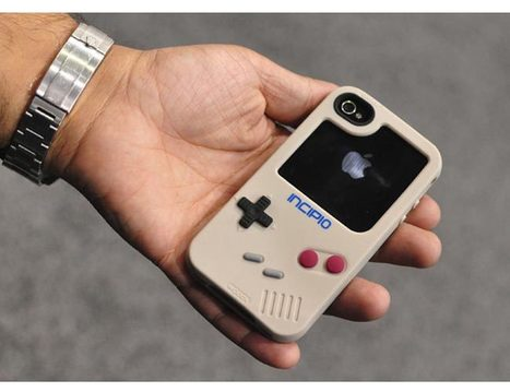 Concept Game Boy iPhone Case | All Geeks | Scoop.it