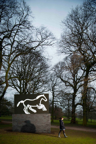 LED horse sculpture goes on display in British park - Focus - Horsetalk.co.nz | The wonderful world of horses | Scoop.it