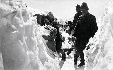 Melting glaciers in northern Italy reveal corpses of WW1 soldiers - Telegraph | Nos Racines | Scoop.it