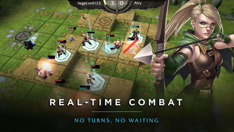 'Champs: Battlegrounds'- Fierce PvP Competition in Pseudo-Real Time | SaladSlicer | Scoop.it