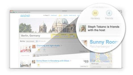 Connections Sociales Airbnb !!! | Voyager autrement avec la consommation collaborative | Scoop.it