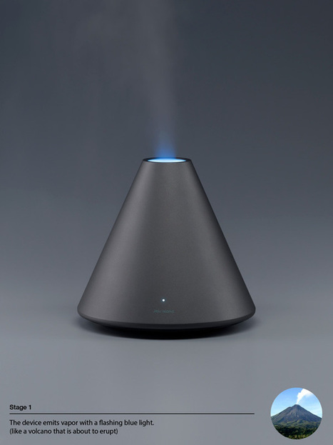 Volcano Series Humidifier | BEAUTY ART | Scoop.it