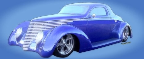 37 Coupe the Car of Tomorrow from Yesterday | VivaChas!  Hot Rod Art | Scoop.it