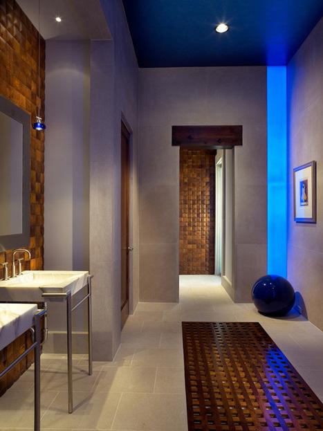 Futuristic Gothic Wine Cellar Illuminated by LED | DesignRulz | Designing Interiors | Scoop.it