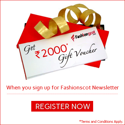 Signup For Fashionscot Newsletter and get Rs.2000 Gift Voucher. | fashionscot | Scoop.it
