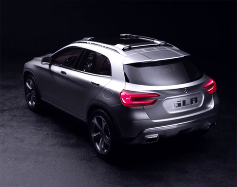 Mercedes-Benz GLA Concept Unveiled ~ Grease n Gasoline | FASHION & LIFESTYLE! | Scoop.it