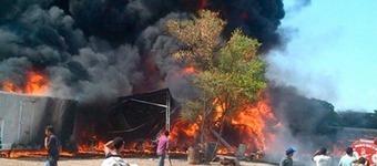 Incendio en La Paz dejó viviendas y vehículos quemados   Caribe Colombiano   Scoop.it