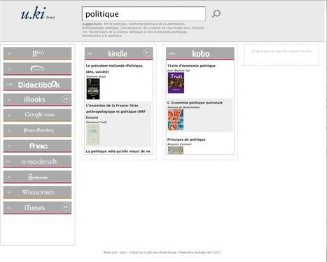 Un moteur de recherche spécialisé pour les livres numériques | Edition et Data | Scoop.it