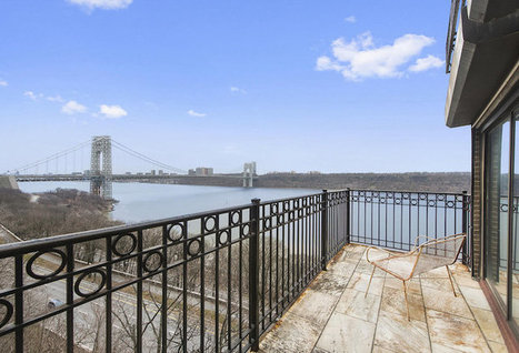 "Historic ""Pumpkin House"" Perched on 265-Foot NYC Cliff Is for Sale 