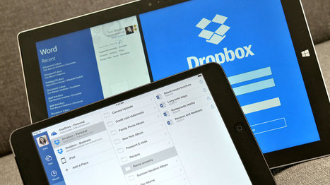 Dropbox and Microsoft form surprise partnership for Office integration | E-Capability | Scoop.it