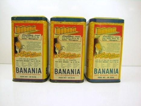 Quand l'objet pour la publicité devient objet de collection   Banania   Scoop.it
