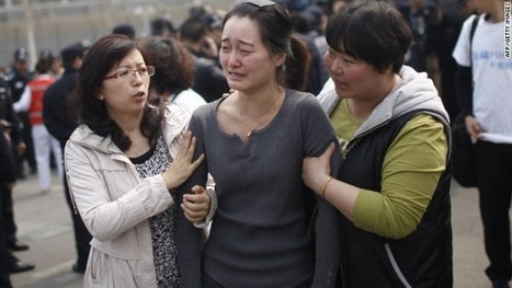 China treads carefully amid the anger and grief of MH370 relatives - CNN | Malaysia Flight 370 | Scoop.it