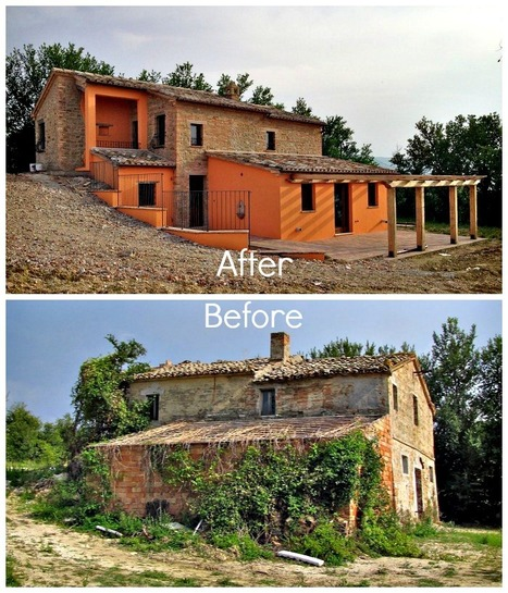 """il Gelso - renovating a """"rustico"""" in Le Marche: a big update 
