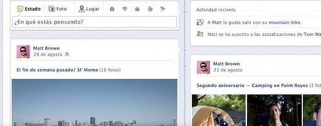 ¡Toca reinventarse! TimeLine de Facebook una bendición para los departamentos de marketing en 2012   Social Media e Innovación Tecnológica   Scoop.it