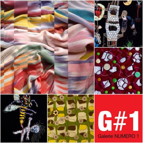 Exposition «Art Textile» - Galerie Numéro 1 | Art Exhibition in Paris | Scoop.it
