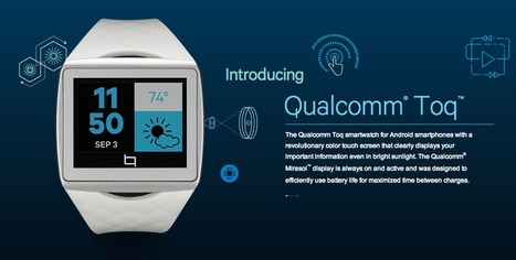 Qualcomm Toq Smartwatch | UX-UI-Wearable-Tech for Enhanced Human | Scoop.it