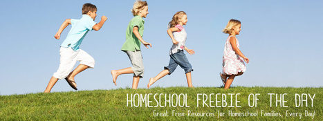 homeschool freebie of the day | HCS Learning Commons Newsletter | Scoop.it