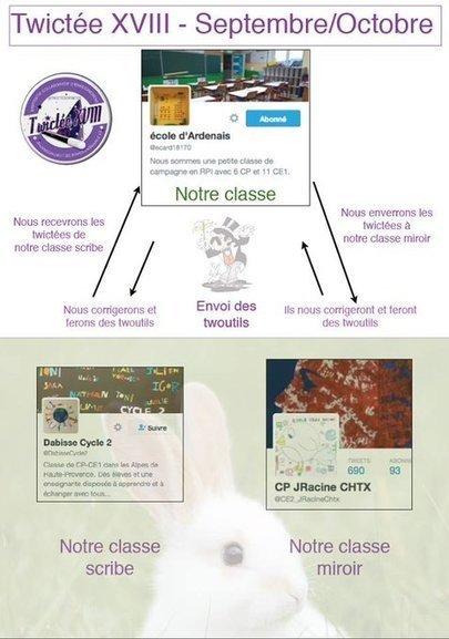 Académie Orléans-Tours. Quand des classes du Berry se mobilisent autour de défis orthographiques de @NathalieBrunetG   Vie numérique  à l'école - Académie Orléans-Tours   Scoop.it