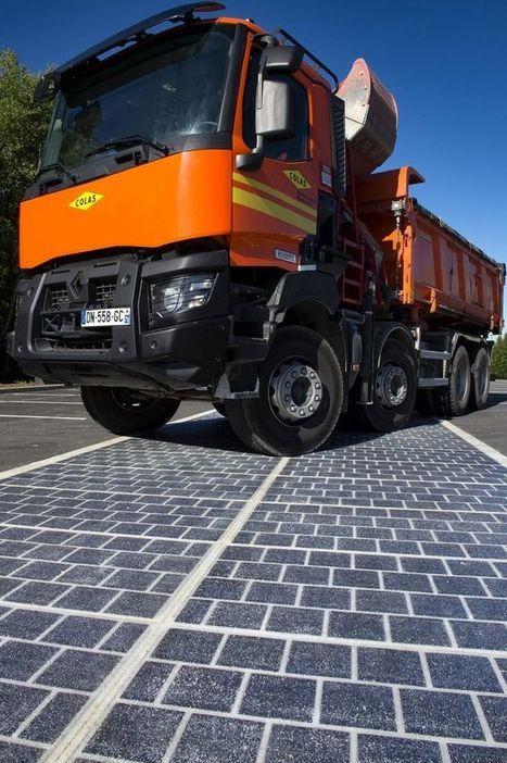 1000 km de routes solaires en France d'ici 5 ans   Prévention et Signalisation Routière   Scoop.it