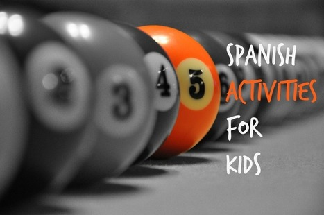 Spanish Lessons: Friday Five for Kids - Spanish Playground | Preschool Spanish | Scoop.it