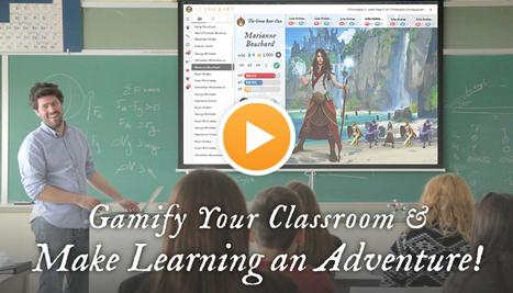 Classcraft - Make learning an adventure   Education 2.0   Scoop.it