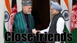 President Karzai Goes To New Delhi To Prove He Has Friends Besides Pakistan | News From Stirring Trouble Internationally | Scoop.it