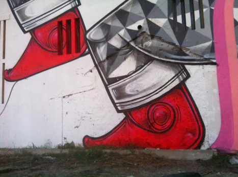 How & Nosm New Mural - Lisbon, Portgual   Illustrations   Scoop.it