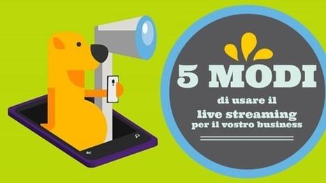 5 modi di usare il live streaming per il vostro business   Web Marketing per Artigiani e Creativi   Scoop.it
