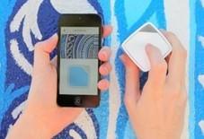 Un cube connecté permet de prélever des couleurs pour les sauvegarder sur un Smartphone | Geeks | Scoop.it